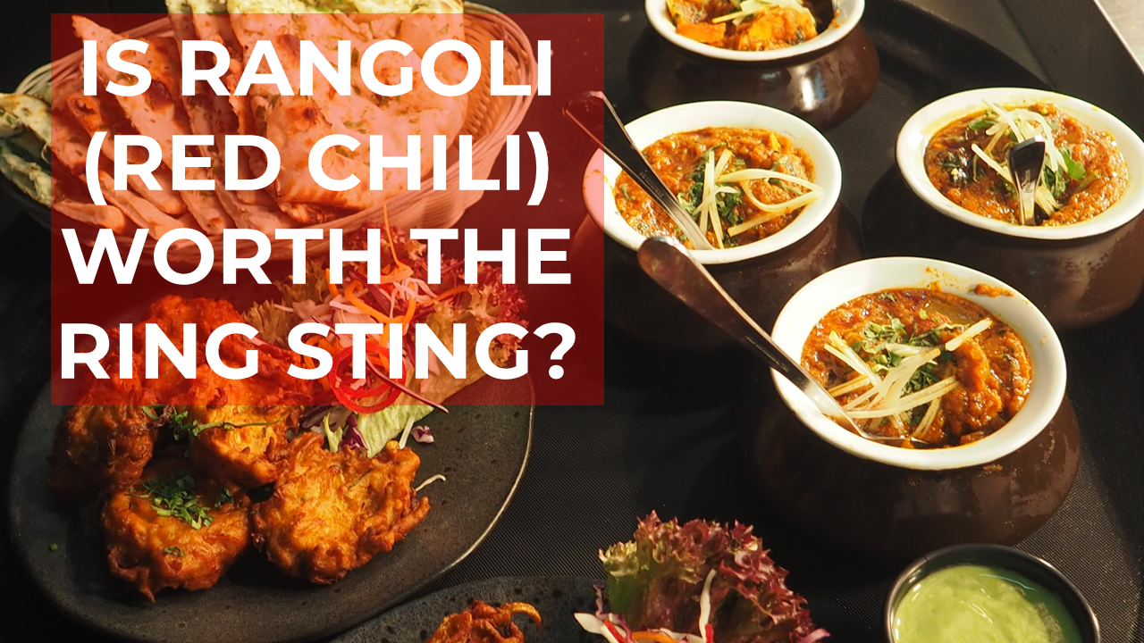 Rangoli - Is Rangoli worth the ring sting-Ian Tanpiuco