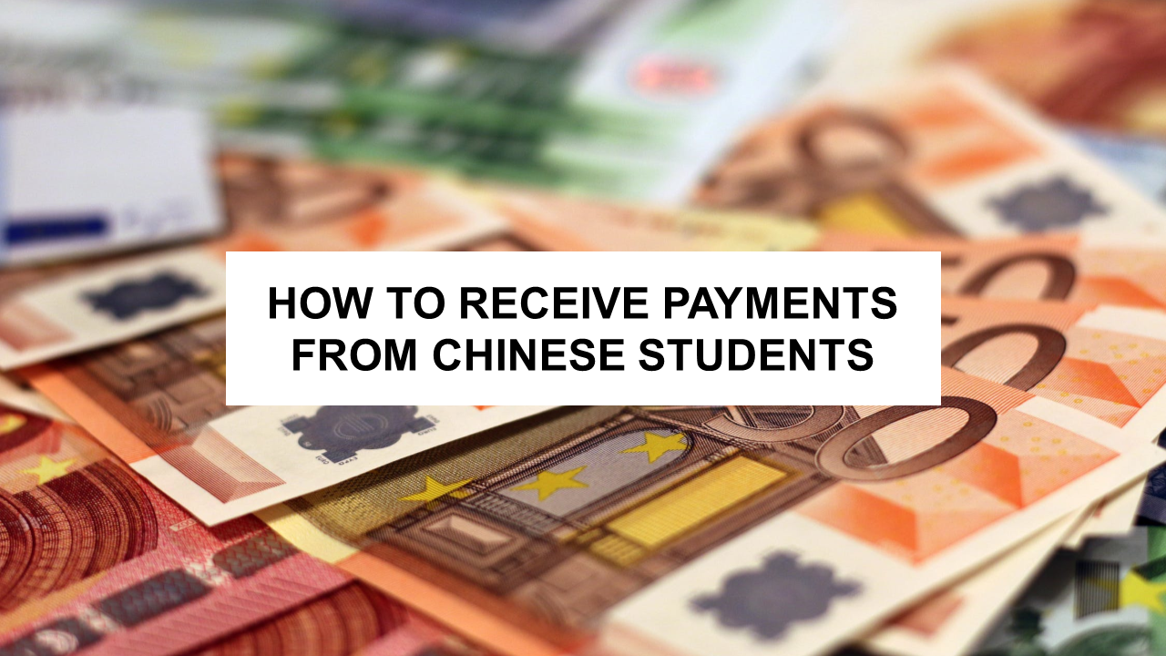 ESL Blog - How to Receive PaymentS from Chinese Students